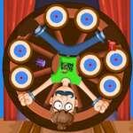 Цирк игра на дартс