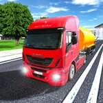Oraș de conducere Truck Simulator 3D joc