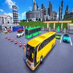 City Coach Bus Parking Adventure Simulator 2020 game