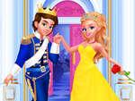 Hamupipőke herceg esküvő játék