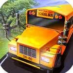 Град училище автобус шофиране игра
