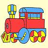 Klassische schnelle Vagon Färbung Spiel