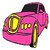 Colorante auto clasic roz joc