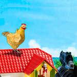 Tir classique de poulet jeu