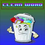 Clean Word game