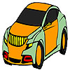 Cómodo para colorear de coche mejor juego