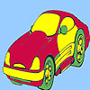 Concept style car coloring game