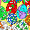 Huevos de Pascua para colorear 1 juego
