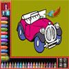 игра Раскраска - Автомобили