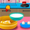 Çilekli pasta pişirme oyunu