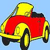 Concept beste toekomstige auto kleuren spel