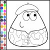 Color Militar Pou game
