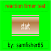 Colorful Reaction Timer game