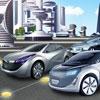 игра Концепция Автомобильная стоянка