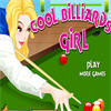 Cool Billiards Girl game