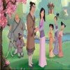 Coloring Mulan game