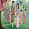 Colorare Mulan gioco