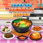 Cooking Korean Lesson game