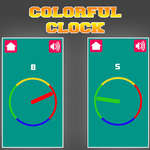Colorful Clock game
