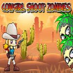 Cowgirl Shoot Zombies jeu