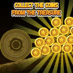 Collect The Coins From the Treasure game