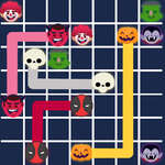Connect The Halloween game