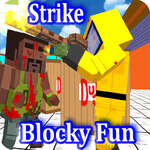 Combat Blocky Strike Multiplayer joc