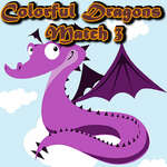 Colorful Dragons Match 3 game