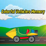 Colorful Vehicles Memory game