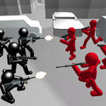 Counter Stickman Battle Simulator joc