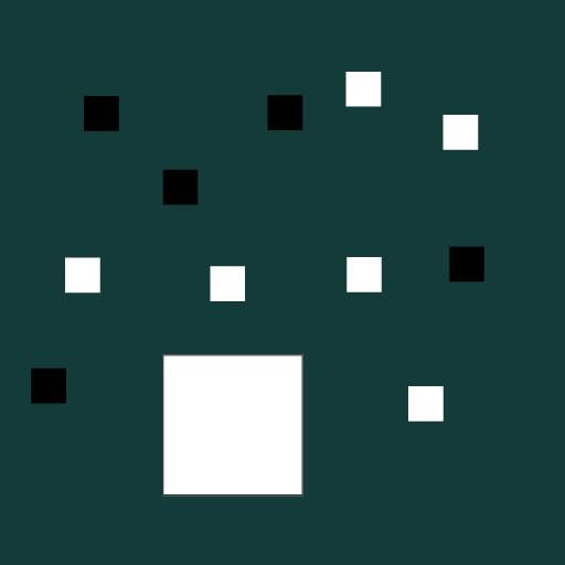 Цвят квадрат игра