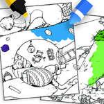 Оцветяване Горгелс игра