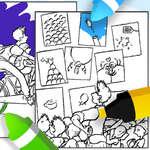 Оцветяване на Мейс Кейс игра