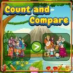 Contar y comparar juego