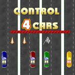 игра Управление 4 Автомобилями
