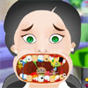 Gekke tandarts tand spel