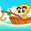 Crayon Shin-chan Fishing game