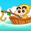 Crayon Shin chan balıkçılık oyunu