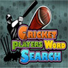 Cricket Players Word Search game