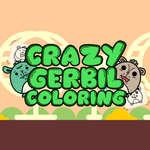 Őrült gerbil színezés játék