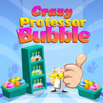 Crazy Professor Bubble game