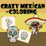 Crazy Mexican Coloring Book game