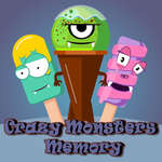 Crazy Monsters Memory game