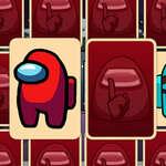 Crewmates és Impostors memória játék