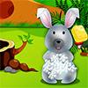 Sevimli tavşan kreş oyunu