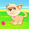 Schattige Puppy Dressup spel