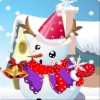 Cute Snowman Dressup game
