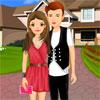 Süße romantische Paar Dress Up Spiel
