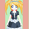 Cute girl and old dress up game
