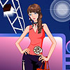 Cute model dress up game